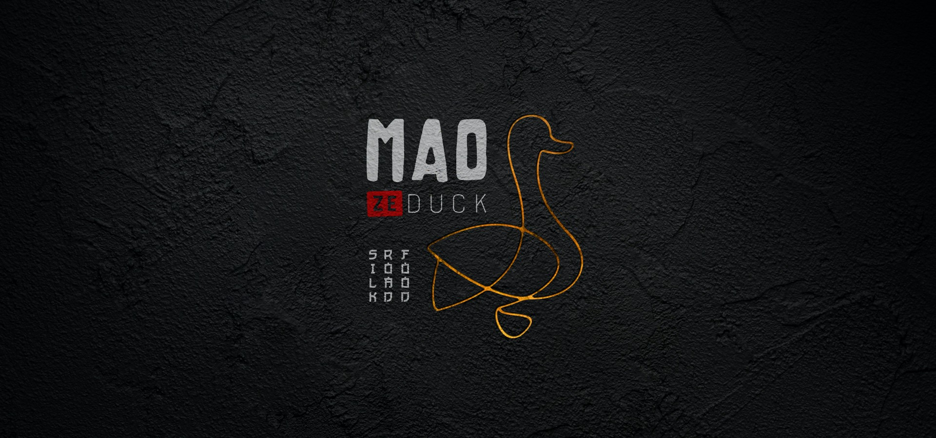 Branding For Mao Ze Duck