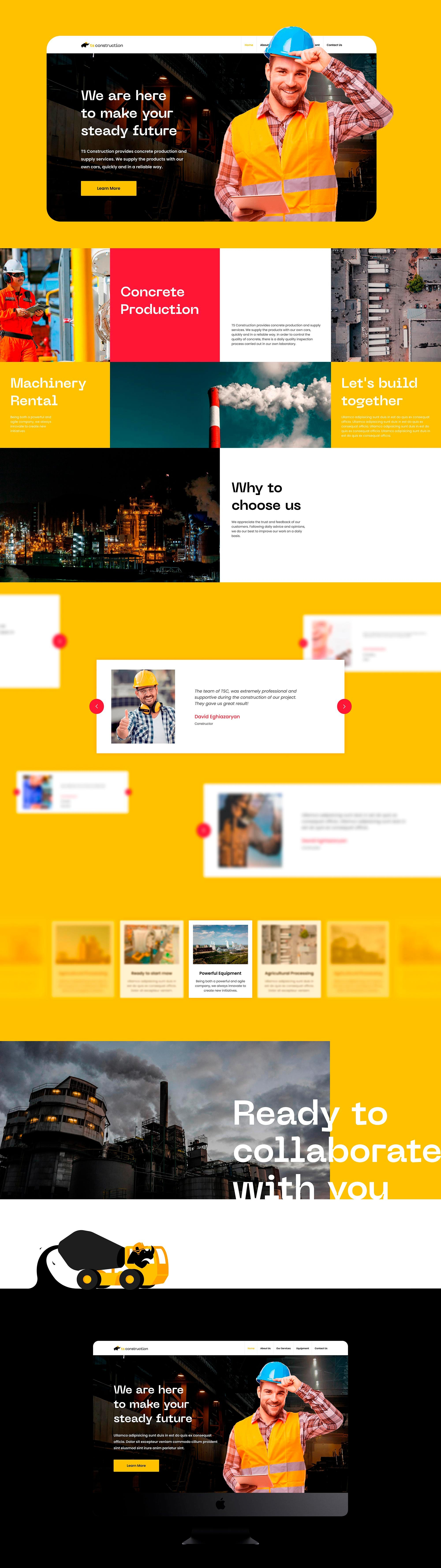 Website Design for TS Construction