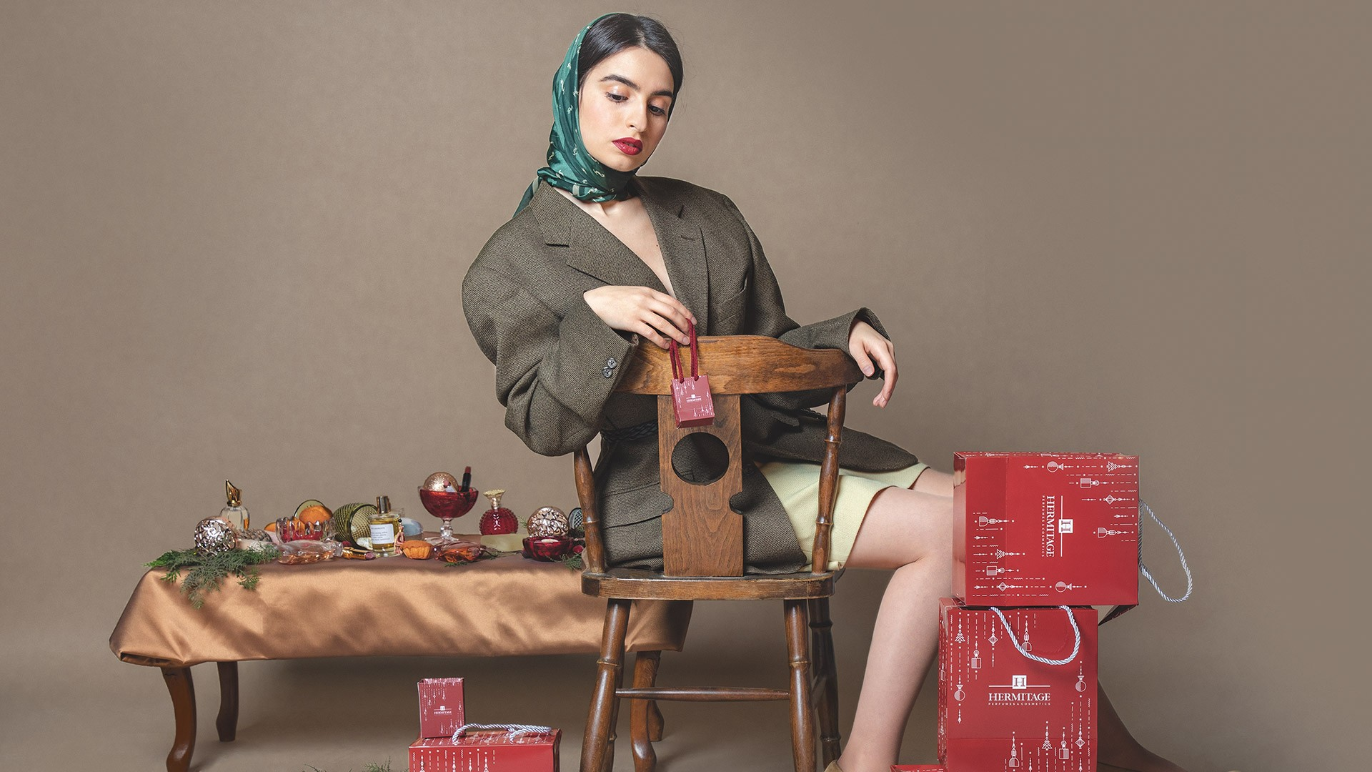 New Year Digital Campaign For Hermitage