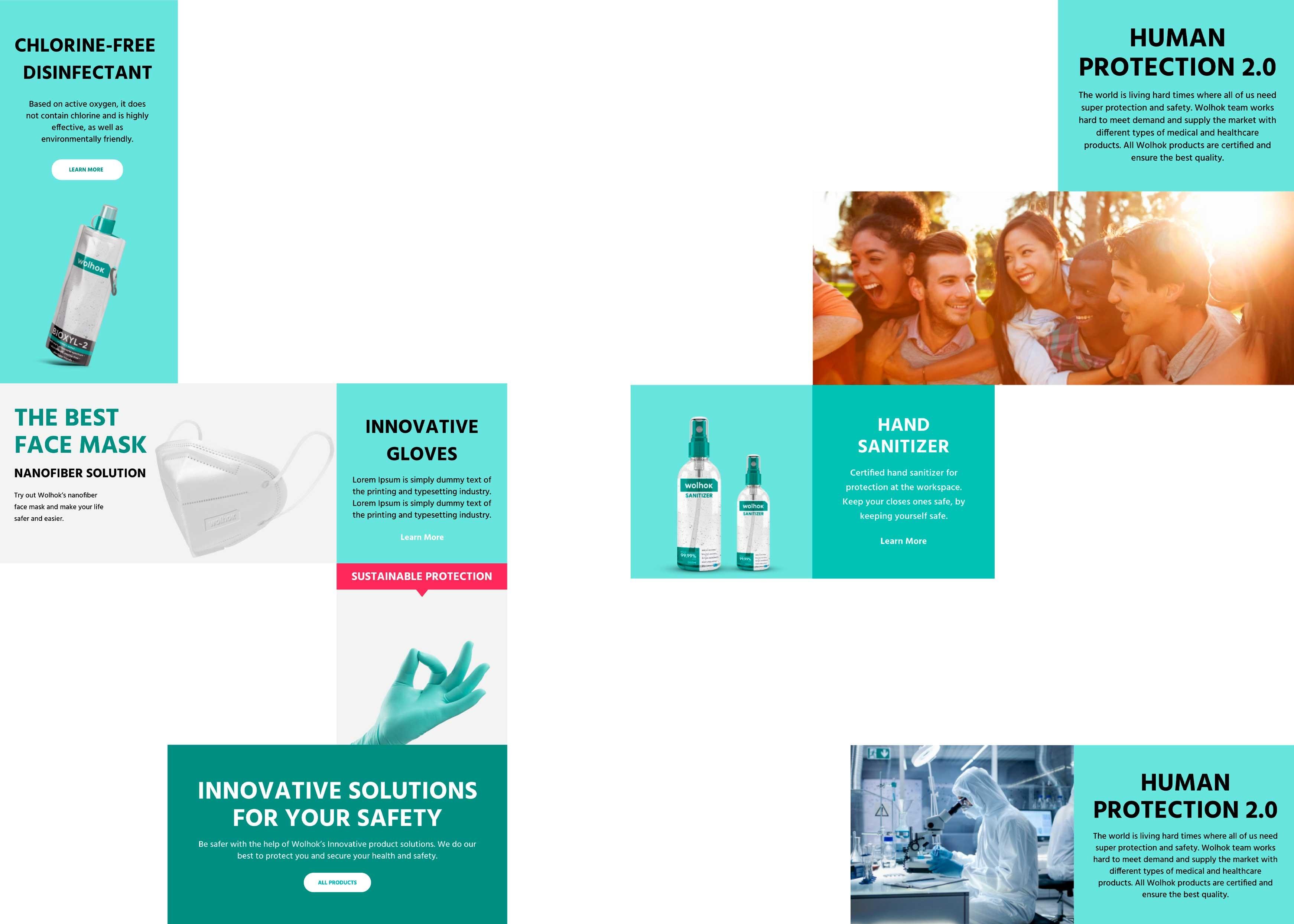 Website Design for Wolhok